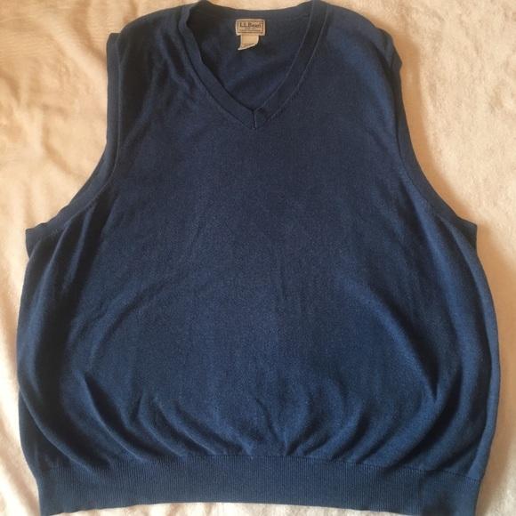 Ll Bean Sweaters L L Bean Mens Sweater Vest Poshmark